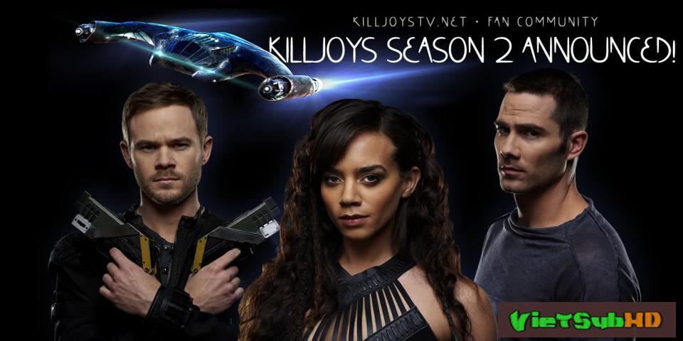 Phim Đội Thợ Săn Tiền Thưởng Phần 2 Tập 8 VietSub HD | Killjoys Season 2 2016