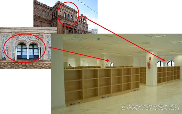 El pasado de sevilla edificio el coliseo un insulto a la for Oficinas de hacienda en sevilla