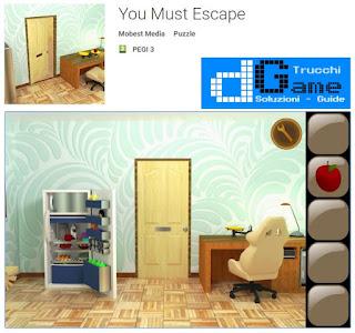 Soluzioni You Must Escape di tutti i livelli