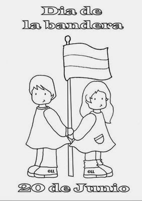 Efemérides En Primer Ciclo 20 De Junio Día De La Bandera