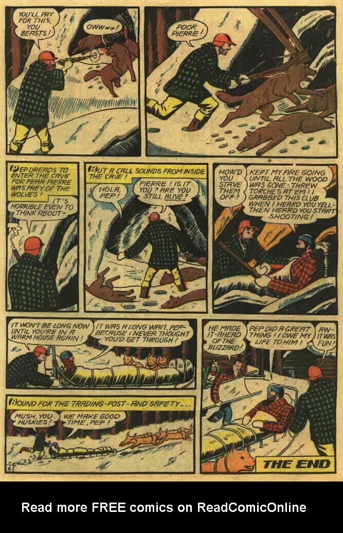 Read online Action Comics (1938) comic -  Issue #26 - 23