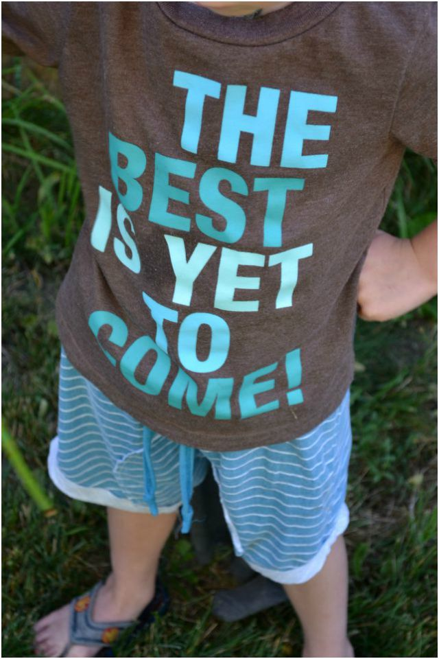Sewing for Boy: Striped Arlo Shorties