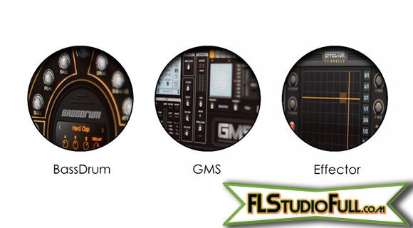 FL Studio 11 - Novos Plugins: BassDrum, GMS, Effector