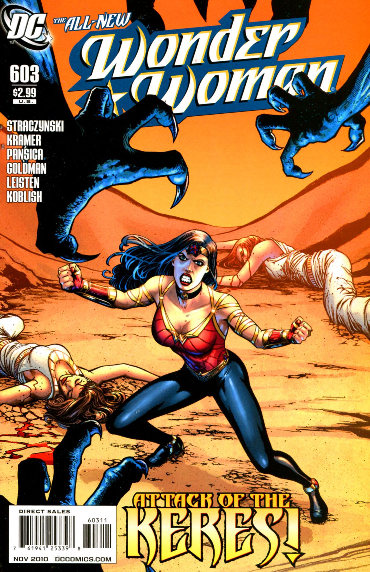 Read online Wonder Woman (2006) comic -  Issue #603 - 1