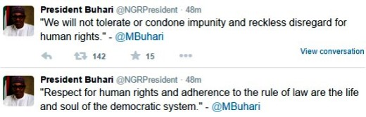 Buhari Reacts To The Amnesty International Report Released Today