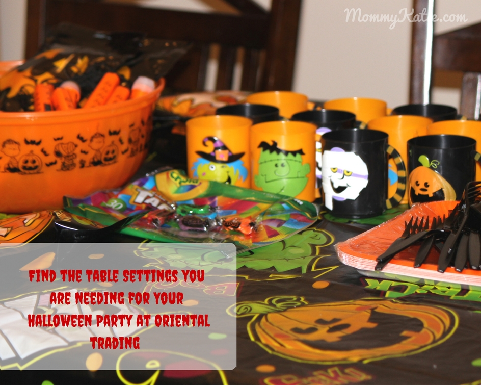 Get Your Halloween Party Supplies From Oriental Trading | Mommy Katie