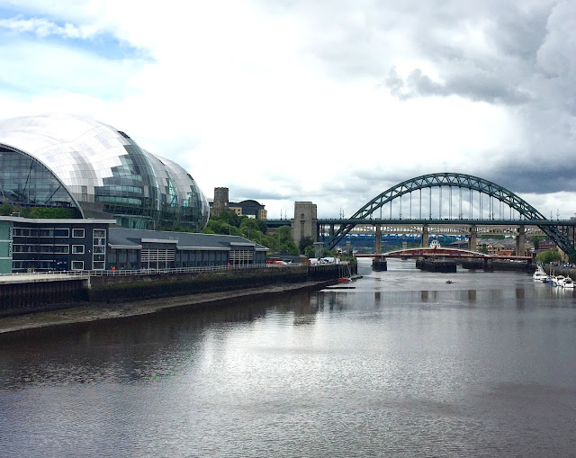 Tyne Bridge And Baltic Newcastle Upon Tyne River And Quayside