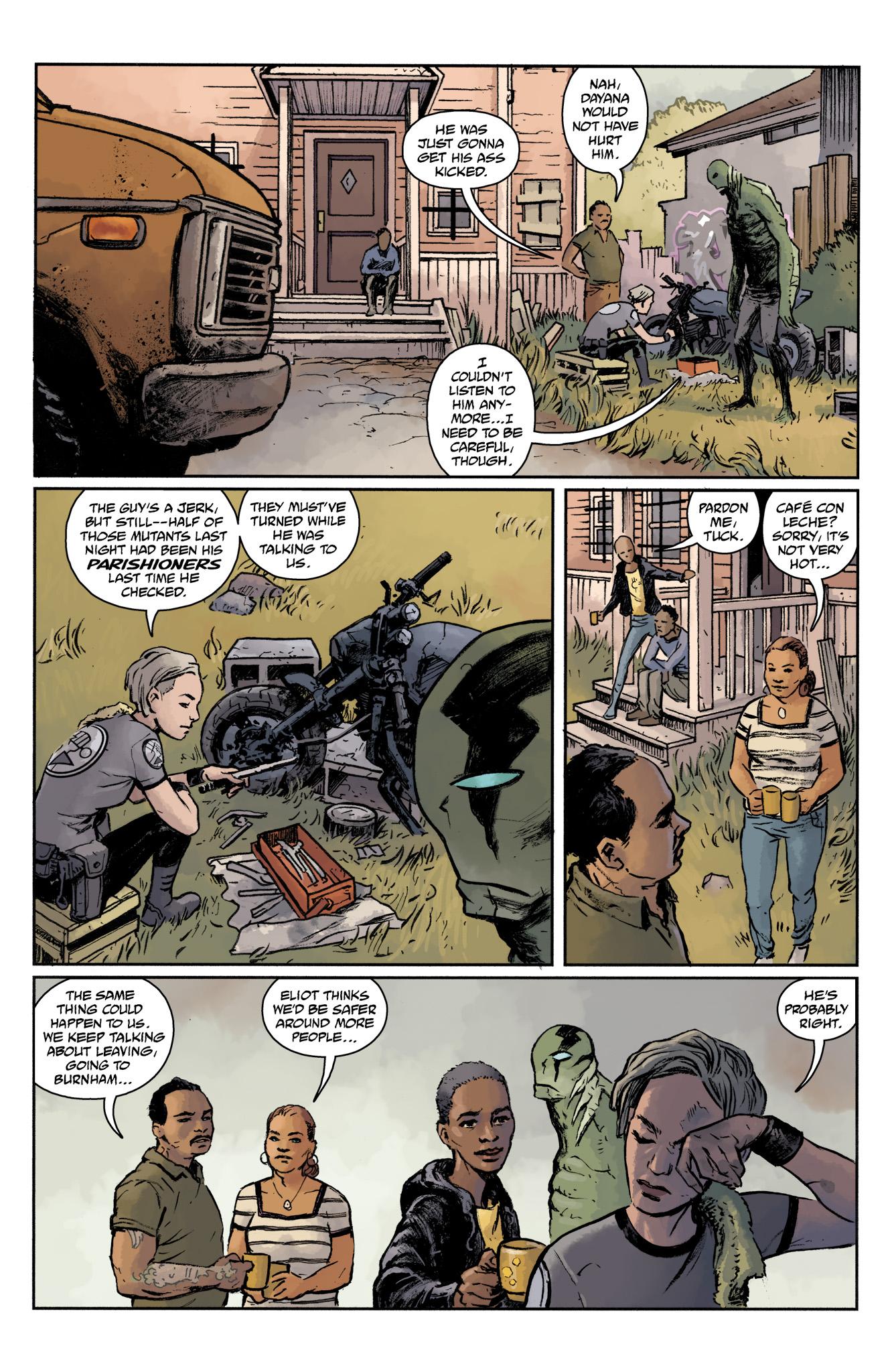 Read online Abe Sapien comic -  Issue #17 - 15