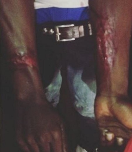 Horror! See What Police Officers Did to a Young Man at Night in Lagos for Refusing to Surrender His Phone
