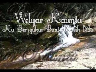 Chord Lagu Rohani : KUBERSYUKUR BUAT KASIH-MU - Ir. Welyar Kauntu