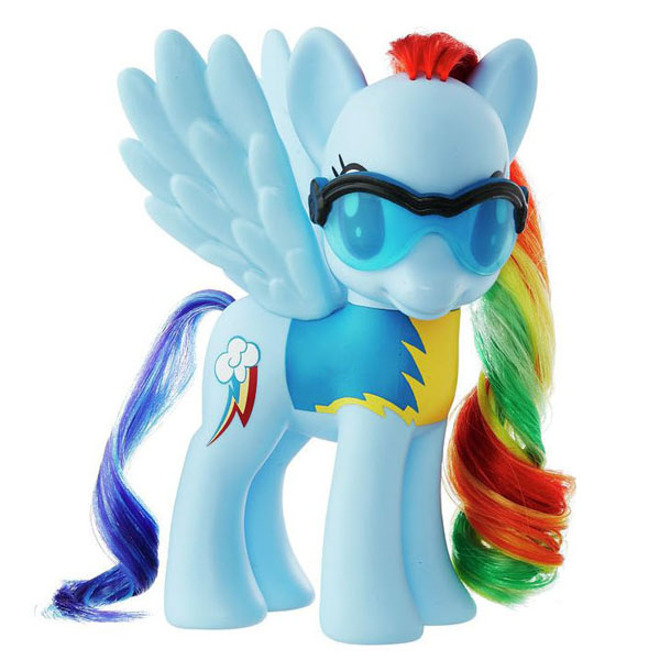 My Little Pony Wonderbolts 6 Pack Rainbow Dash Brushable