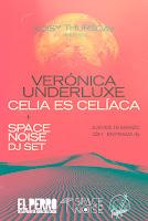 Concierto de Verónica Underluxe y Celia es celíaca en El perro de la parte de atrás del coche