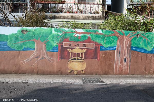 台中大里景點|梅花鹿彩繪巷|草湖溪自行車步道|塗城公園|散步好去處