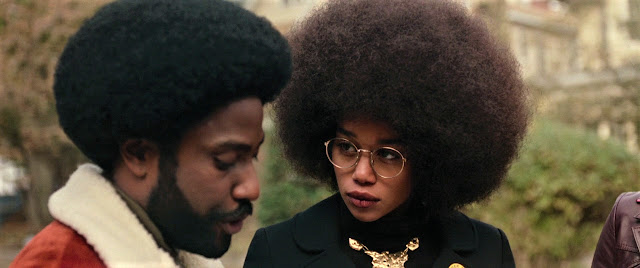 John David Washington Laura Harrier Spike Lee | BlacKkKlansman