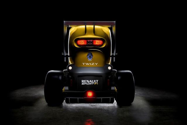 Renault twisy sport f1 car