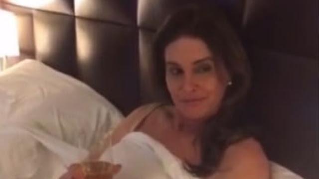 Caitlyn Jenner, Kourtney Kardashian Star as Love Rivals in Kylie Jenner's Snapchat Movie