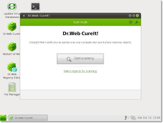 Dr. Web v9.0.0 LiveCD | Herramienta de rescate y limpieza de sistemas | Base de virua actualizada abril 2017