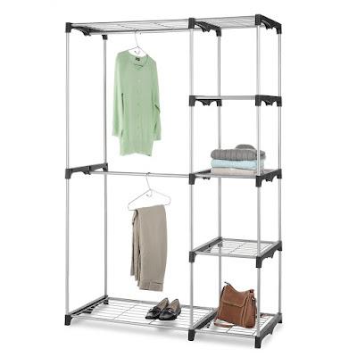 Best design for freestanding closet