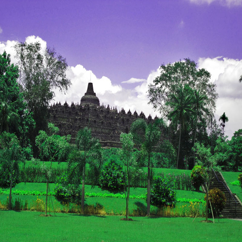 Bromobudur Temple, Central Java Province, Indonesia