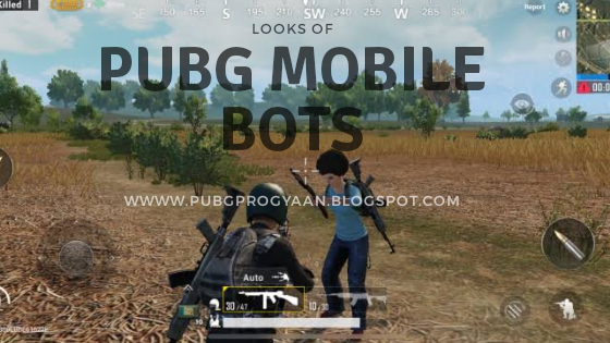 Pubg Mobile bots looks