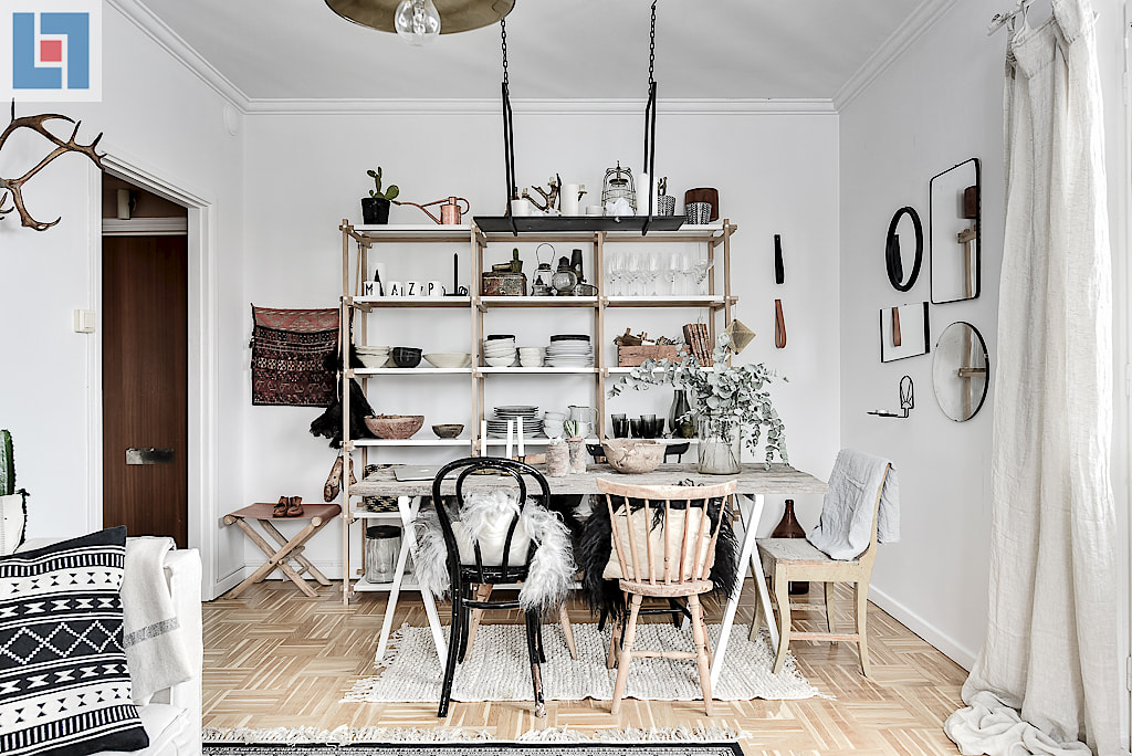 A Beautiful Apartment In Sweden With A Successful Mix Of Ethnic And  Scandinavian Style Decoration