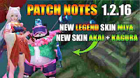 Players in the Mobile Legend game will feel a pretty significant change in the latest Sea update, Mobile Legend Patch Notes 1.2.16