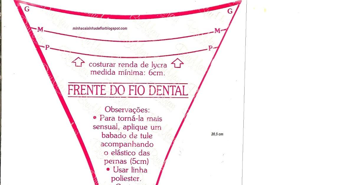 De fio dental cinta liga e meias - 3 7