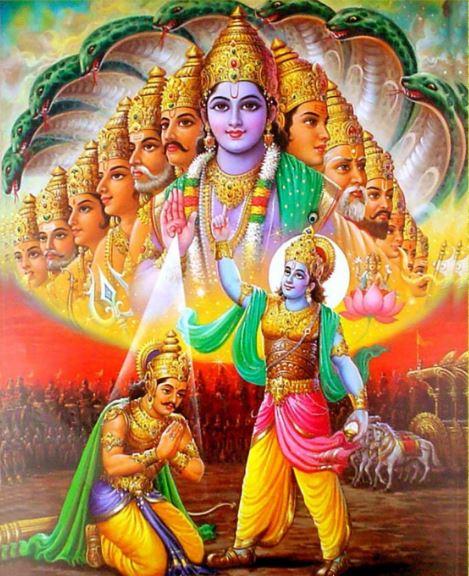 6 Best Biswaroop Of Lord Krishnas Hd Wallpaper Download Free Best