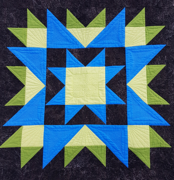 Medallion Magic Quilt | DevotedQuilter.blogspot.com