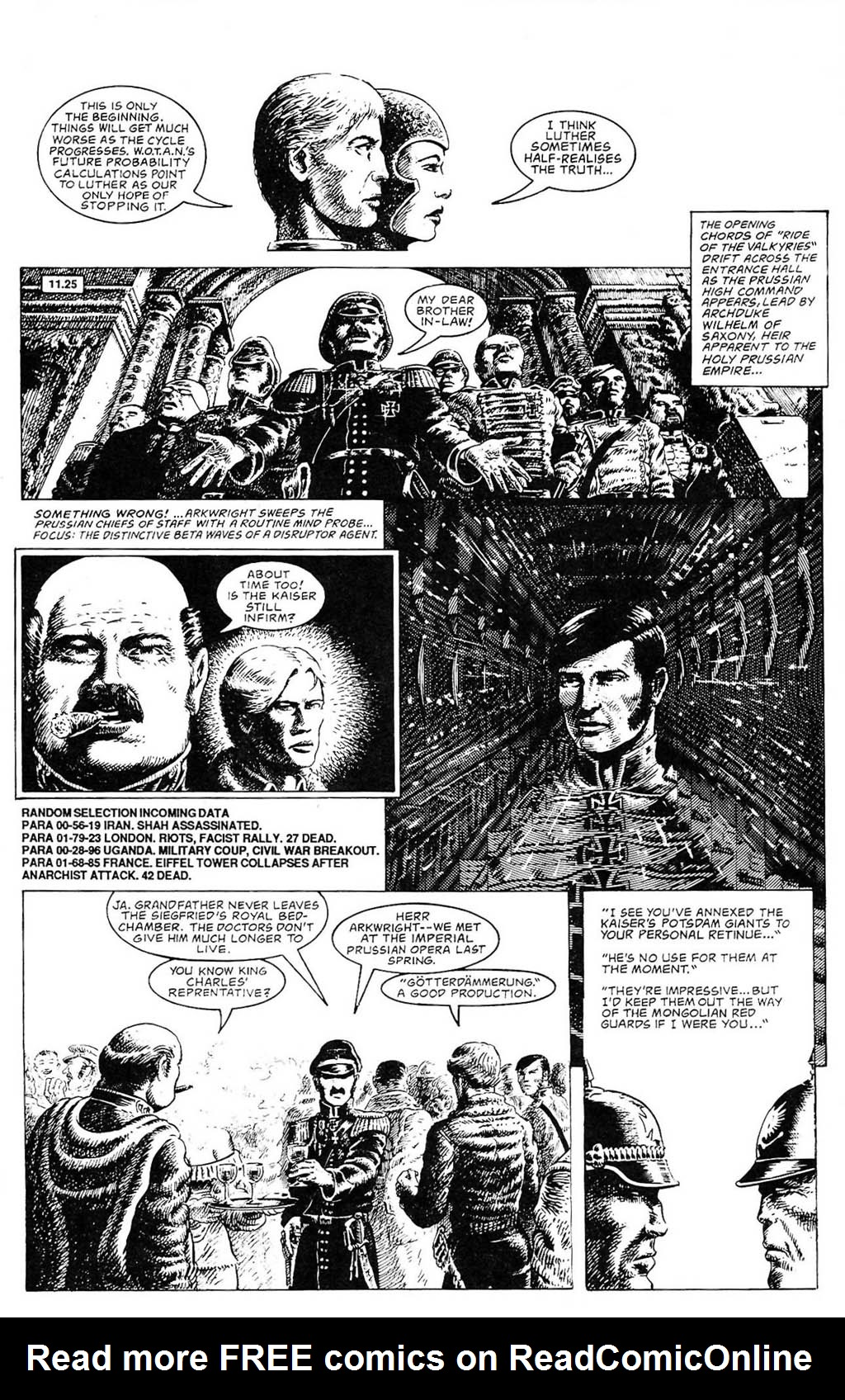 Read online The Adventures of Luther Arkwright comic -  Issue #2 - 8