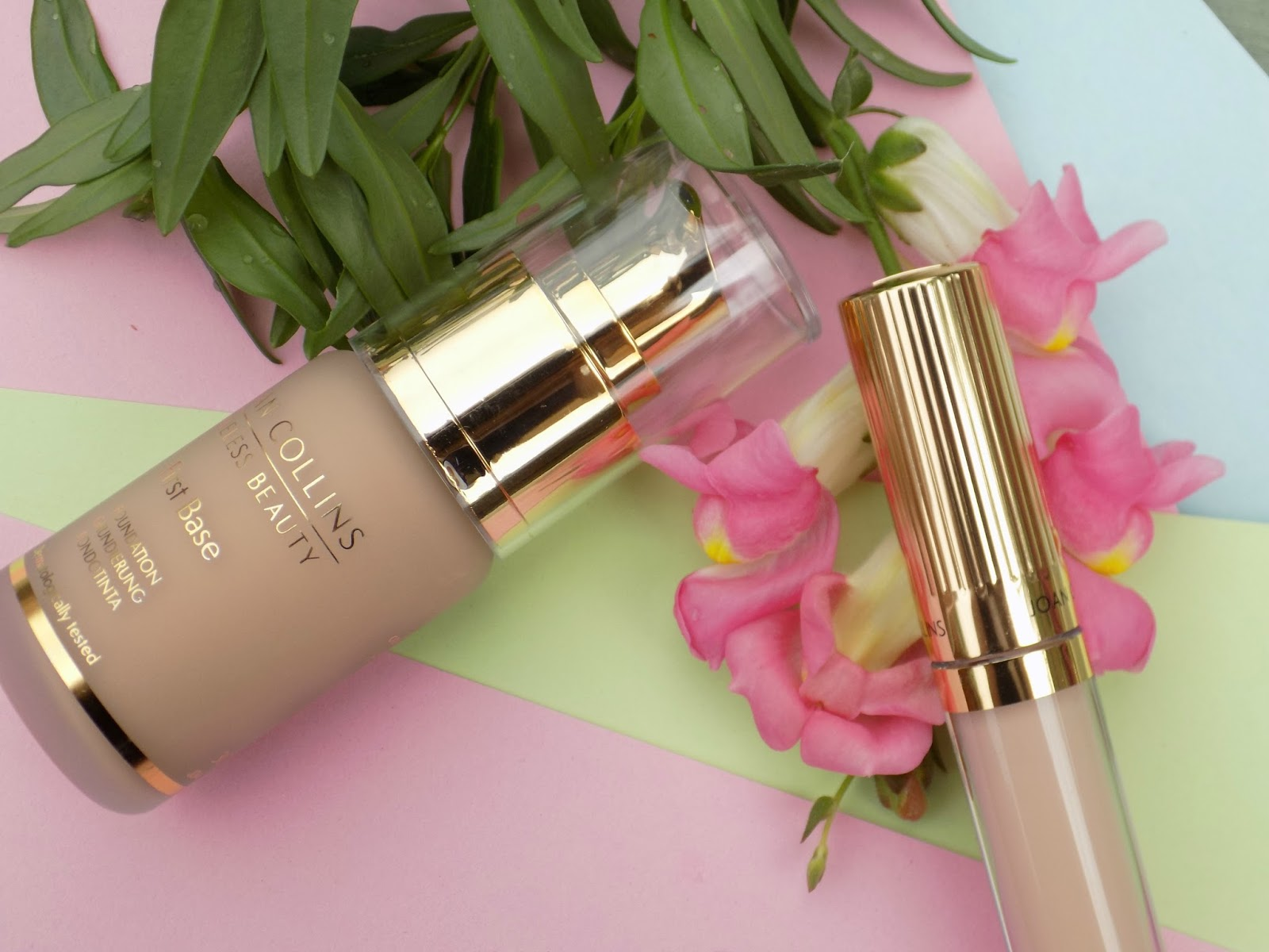Joan Collins first base foundation and fade to perfect concealer