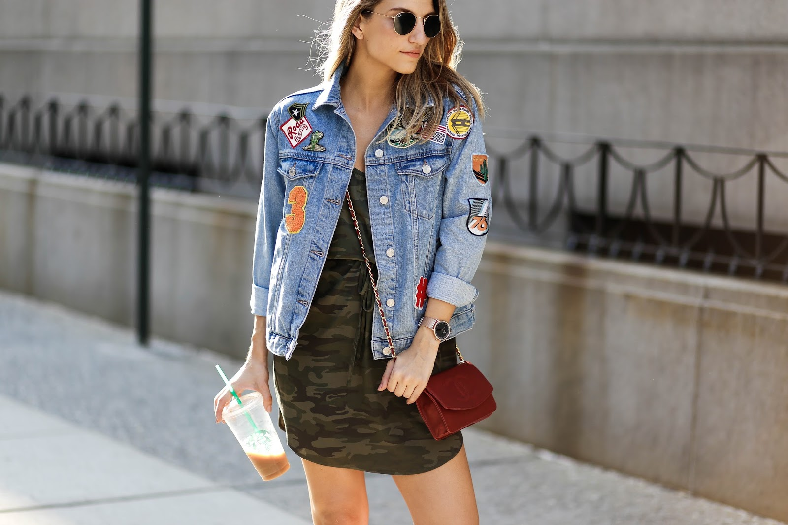 nordstrom topshop denim jacket