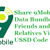 How To Share 9Mobile Data Bundle with Friends and Relatives Via USSD Code.
