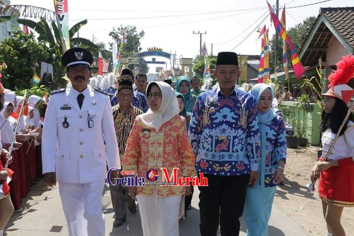 Pemkab Pringsewu Daulat Pekon-Kelurahan Lomba Tingkat Provinsi