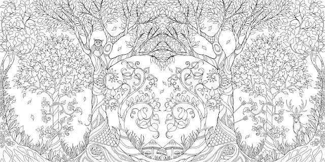 Johanna Basford Newest Coloring World Of Flowers