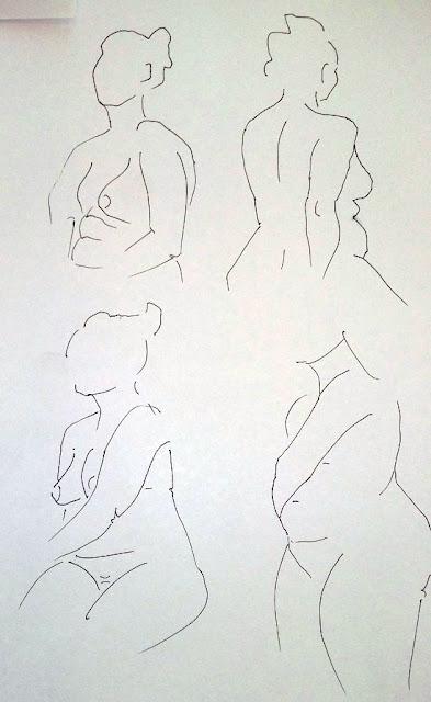 Haagan Taideseura järjestää elävän mallin piirustusta