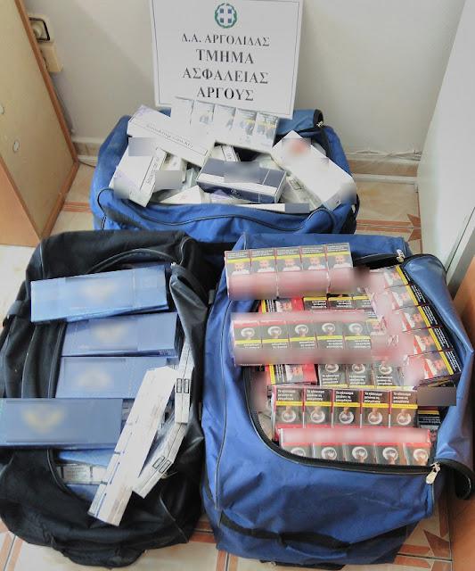 Συνελήφθη 50χρονος με 1.550 πακέτα λαθραία τσιγάρα στην Αργολίδα