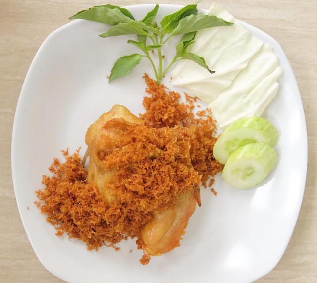 Resep Ayam Goreng Serundeng Kelapa, Cara Membuat Ayam Goreng Serundeng Kelapa