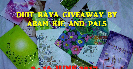 Duit Raya Giveaway by Abam Kie and Pals