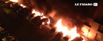 Soirées des 13 et 14 juillet: 603 gardes à vue et 721 voitures brûlées (vidéo) dans France voitures%2Bbr%25C3%25BBl%25C3%25A9es%2B13%2Bet%2B14%2Bjuillet%2B2015