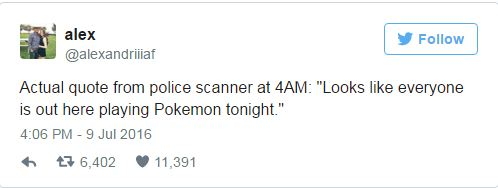9 Funny Tweets About Pokemon GO 4