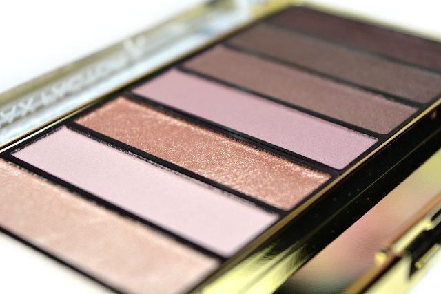 Max Factor Masterpiece Nude Palette 03 Rose Nudes | Close-Up