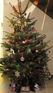 Mon sapin de Noël décoré