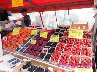 慕尼黑水果攤