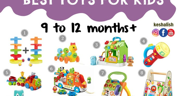 Keshalish Toys For Kids 9 Months To 1 Year Old And Up