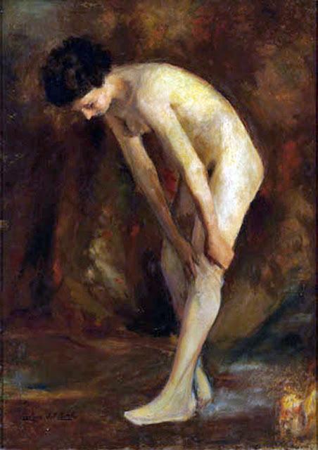Carolina del Castillo, Il nude in arte, Artistic Nude