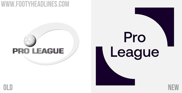All New Belgian Pro League Logo Brand Identity Launched Sponsor Version Footy Headlines