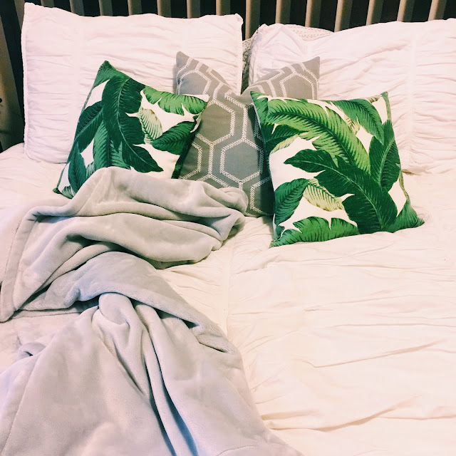 palm print pillows
