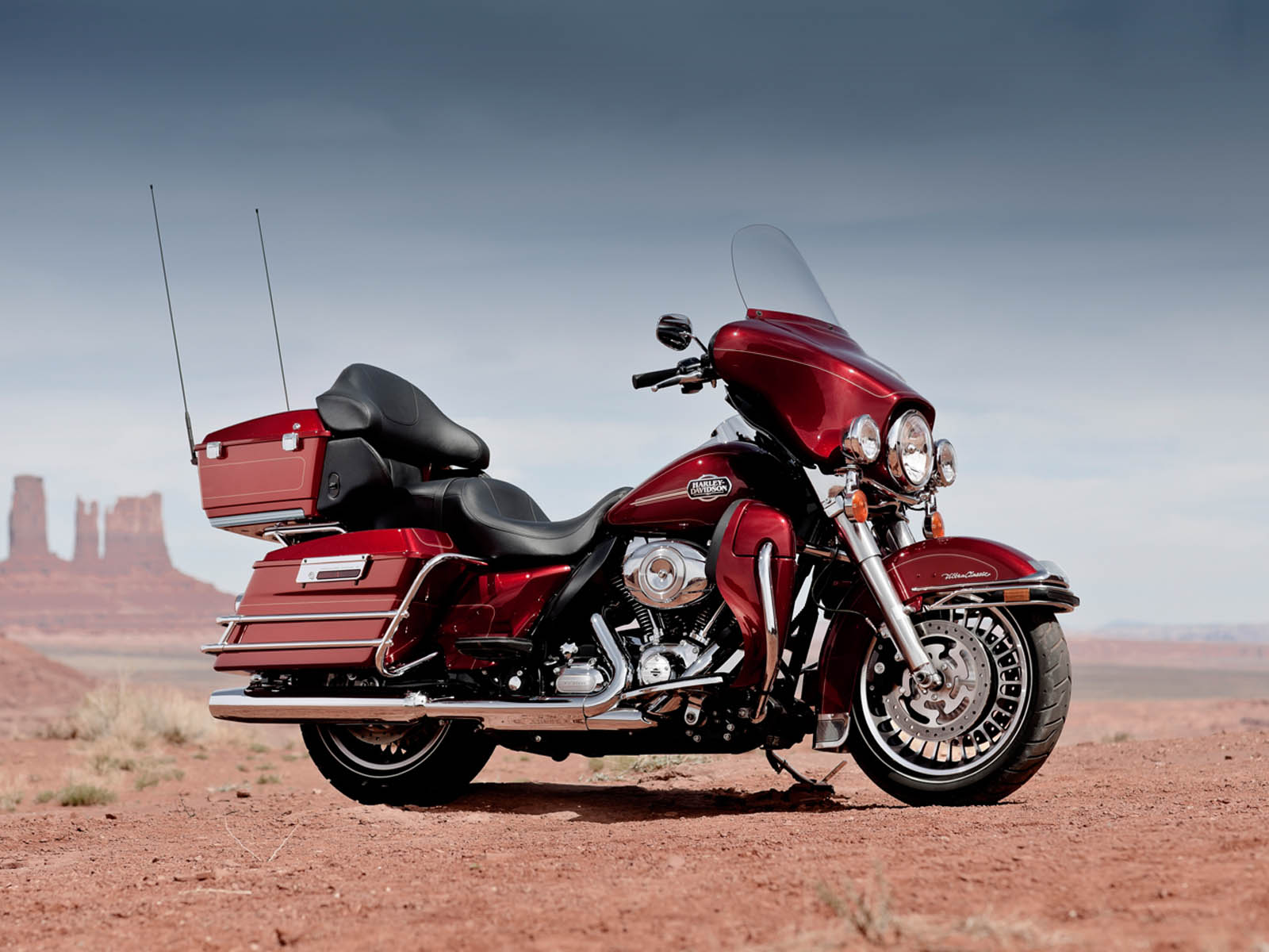 wallpapers: Harley Davidson Ultra Classic Electra Glide ...