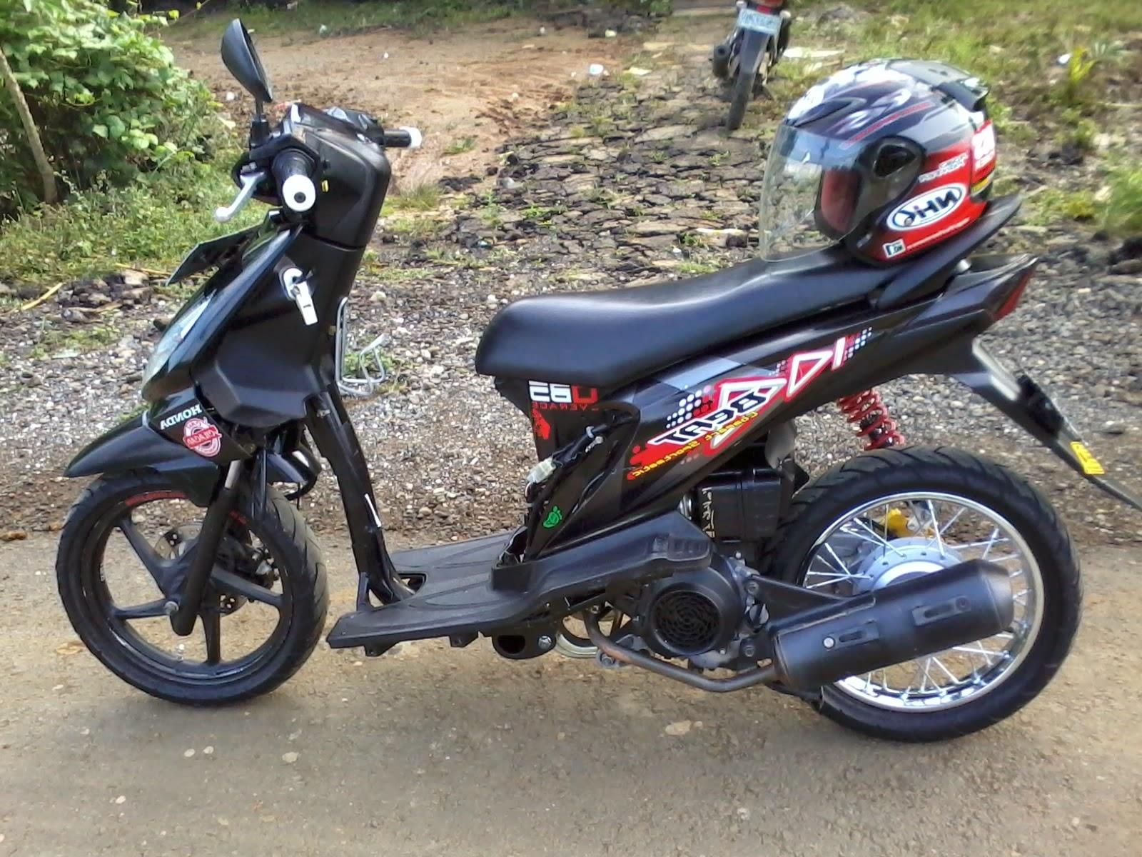Koleksi Download Gambar Modifikasi Motor Honda Beat